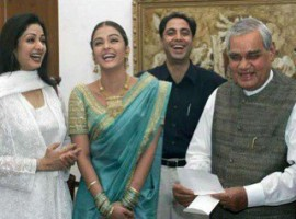 Throwback to the time when Aishwarya Rai and Sridevi shared a hearty laugh with former PM Atal Bihari Vajpayee