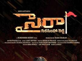 Sye Raa Narasimha Reddy teaser poster
