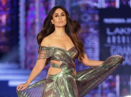 'Diva' Kareena Kapoor Khan dazzles the ramp on LFW grand finale