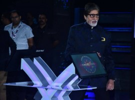 Amitabh Bachchan at KBC press conference