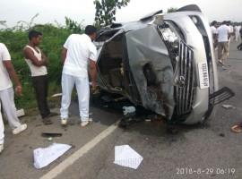 Nandamuri Harikrishna dies in road mishap near Nalgonda