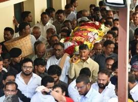 Nandamuri Harikrishna funeral photos