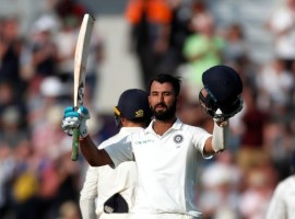 Cheteshwar Pujara's 132 helps Ind take 27-run lead against Eng