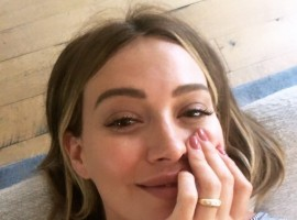Is Hilary Duff engaged?
