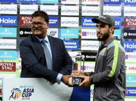 Usman was adjudged the Man of the Match award