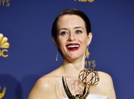 Claire Foy wins first Emmy for 'The Crown'