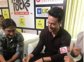Tiger Shroff at Mind Rocks 2018