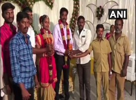 As Fuel prices Skyrocket, Tamil Nadu groom gets 5 litres of Petrol as wedding gift