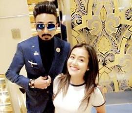 Neha Kakkar and Mohammed Rashid