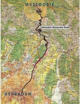 doon-Mussoorie ropeway
