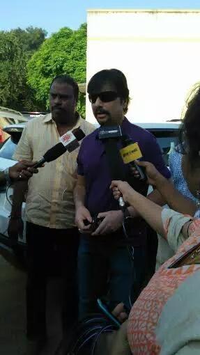 Nadigar Sangam Elections,Nadigar Sangam Elections 2015,celebs at Nadigar Sangam Elections,Rajinikanth,Vijay