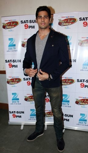 Siddharth Malhotra at 'Dance India Dance