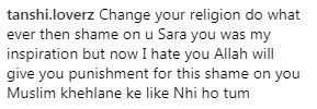 Sara Khan trolled for posing in bikini