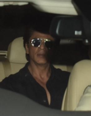 Rajinikanth,Shah Rukh Khan,Gauri Khan,Anil Kapoor,celebs at Anil Kapoor house,RIP Sridevi,Sridevi,sridevi death,Sridevi passes away,sridevi funeral