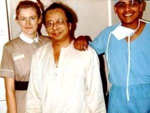 RD Burman in hospital