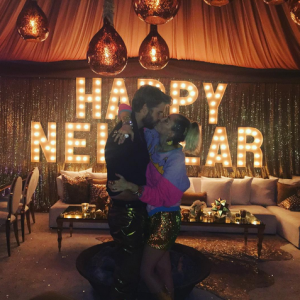 Miley Cyrus,Liam Hemsworth,Kourtney Kardashian,New Year 2017,New Year Celebrations,New Year Celebrations pics,New Year Celebrations images,New Year Celebrations photos,New Year Celebrations stills
