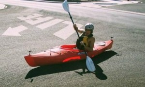 25. Kayaking