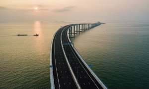 World's Longest Sea Bridge -  Hong Kong-Zhuhai-Macau