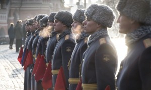 77th Anniversary Of The 1941 Red Army Parade