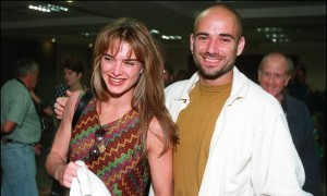 1999: Brooke Shields And Andre Agassi