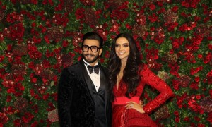 DeepVeer Reception At The Grand Hyatt Mumbai