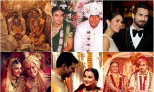 Check out the beautiful Bollywood celebrity wedding pictures at IBTimes.co.in photo gallery.