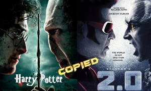 Rajinikanth, Akshay Kumar's 2.0 poster copied from Hollywood movie Harry Potter?