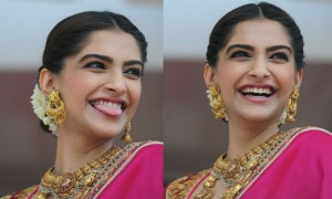 We just saw a sneak peek of Sonam as a fun bride during her wedding. You can imagine how busy her million dollar smile will keep the cameras at the wedding.