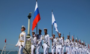 Russia's Navy Day parade