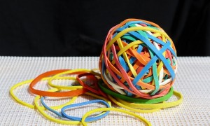 25. Largest Rubber Band Ball