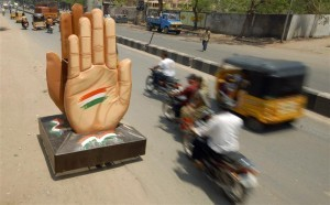 Congress's Hand symbol (Reuters)