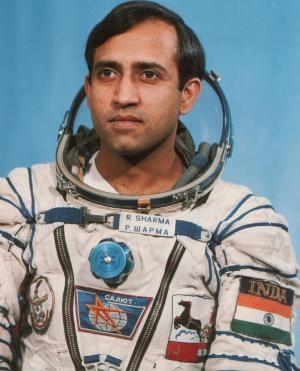 Cosmonaut Wing Commander Rakesh Sharma