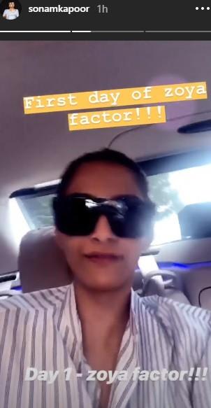 Sonam Kapoor,actress Sonam Kapoor,Sonam Kapoor The Zoya Factor',Dulquer Salmaan in The Zoya Factor,The Zoya Factor shooting,The Zoya Factor pics,The Zoya Factor images,The Zoya Factor stills,The Zoya Factor pictures,The Zoya Factor photos