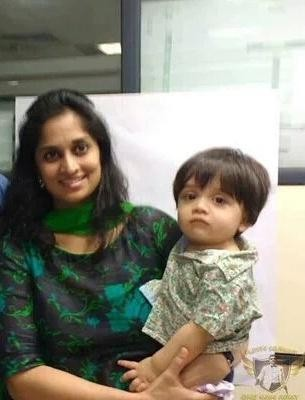Shalini Ajith with Aadivik