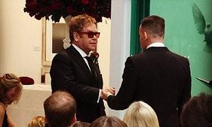 Elton John, Partner David Furnish Marry