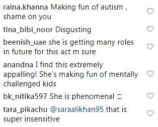 Sara Ali Khan slammed