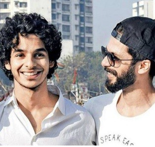 Ishaan Khattar and Shahid Kapoor