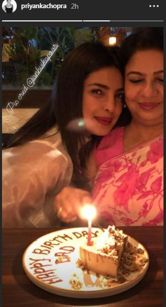Priyanka Chopra,Priyanka Chopra Quantico,Priyanka Chopra Nick Jonas,Ashok Chopra,Ashok Chopra birthday,Madhu Chopra,Priyanka Chopra celebrates Ashok Chopra birthday