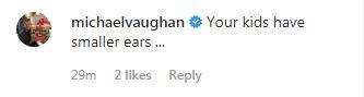 Michael Vaughan post