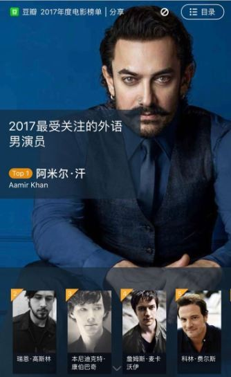 Chinese IMDB Annual survey,Aamir Khan,Foreign actor,Aamir Khan as no. 1 Foreign actor