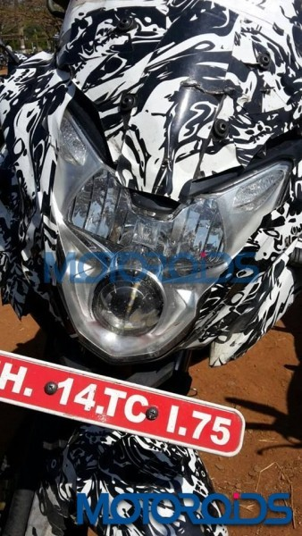 Bajaj Pulsar 150 AS Returns in Fresh Spy Shots