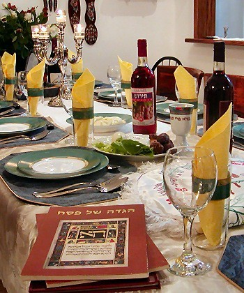 Passover, also known as Pesach, is the major Jewish festival that begins on 14 April 2014. Here are the top interesting facts and 10 quotes and sayings to share. The Picture shows a table set for a Passover meal (Photo: Wiki Commons)