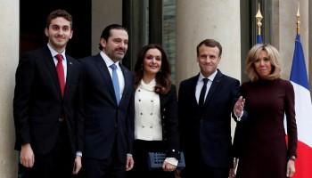 Saad al-Hariri,Lebanon's Prime Minister Saad al-Hariri,PM Saad al-Hariri,Emmanuel Macron,President Emmanuel Macron,Lebanon