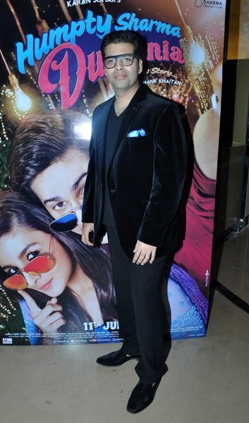 Karan Johar at Trailer launch of upcoming film 'Humpy Sharma Ki Dulhania'