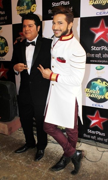 Sajid Khan and Terence Lewis on Nach Baliye Grand Finale