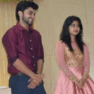 Jimikki Kammal,Sheril G Kadavan,Sheril engaged to Praful,Praful Tomy Amamthuruthil,Jimikki Kammal fame Sheril,Sheril wedding,Sheril marriage