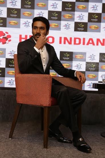 Dhanush,actor Dhanush,Indian Super League,hero Indian Super League,football tournament,dhanush as brand ambassador,dhanush for Indian Super League,Super League football,football,ISL,ISL brand ambassador