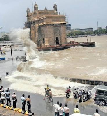 Mumbai drowns,heavy rain in Mumbai,Mumbai,Mumbai heavy rains,heavy rains predicted mumbai,Mumbai rains