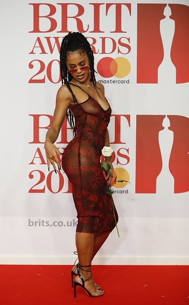 Diana De Brito,rapper Diana De Brito,Diana De Brito pics,Diana De Brito  images,Diana De Brito wallpaper,Brit Awards 2018,Brit Awards 2018 red carpet,celebs at Brit Awards 2018