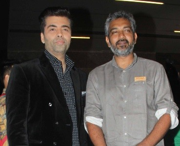 Karan Johar and SS Rajamouli